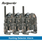 360° Wirless Security Alarm Hunting Trail Alarms +LED PIR Motion Detecors 100M