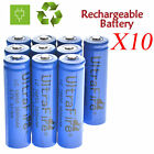 Lot 18650 3.7V 6800mAh Li-ion BRC Rechargeable Battery For Flashlight Torch US