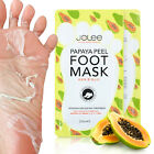 Kyпить JoLee Papaya Exfoliating Peel Foot Sock Mask Baby Soft Feet Removes Dead Skin на еВаy.соm