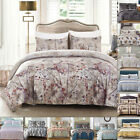Luxury Duvet Cover With Pillow Case Quilt Cover Bedding Set Single Double King