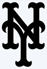 New York Mets Logo Vinyl Decal Sticker - You Pick Color & Size