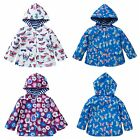 Kids Boy Girl Long Sleeve Hooded Outerwear Floral Casual Spring Jacket Coat Tops