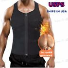 Compression Slim Men's Vest Neoprene T-shirt Fat Burn Shaper
