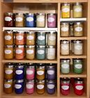 $SAVE$ Lot of 2 ~ Assorted Aromatherapy Scents ~ Soy Wax Candles ~ 8oz Jelly Jar