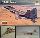 Italeri 1/48 F/A-22 Raptor New Plastic Model Kit 850 F22 F-22 F 22 FA22 FA 22