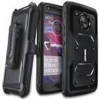 COVRWARE® Moto X4, Full-Body Armor Rugged Holster Case [Aegis Series]