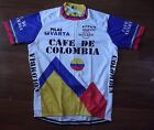 Brand New Team Cafe De Colombia Raleigh cycling Jersey,