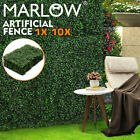 Artificial Boxwood Hedge Fake Vertical Garden Green Wall Mat Fence 60x40x5cm New