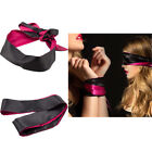 Blindfold Eye Satin Mask Sex Couple Games Love Cosplay Cover Band Soft Tie