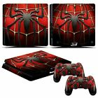 Skin Sticker for Sony PS4 Slim Console & Controller Decal Set with Light Bar