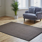 NEW PLANE MATS CHOCOLATE NON SLIP RUG SALE MODERN QUALITY RUG MAT ON CLEARANCE