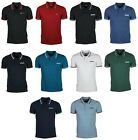 MENS POLO T SHIRT LAMBRETTA DESIGNER BRANDED TOP POLO TSHIRT ALL SIZES S TO 4XL
