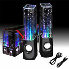 QUANTUM LED Dancing Water Show Music Fountain Light Speakers - Phones Computer