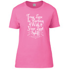New Funny Humorous Love Last Spliff Ladies Fitted Premium T-Shirt Sizes 6 - 22