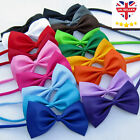 Bow Ties Pet Dog Puppy Cat Kitten Bow Child Kids Accessories Various Colours UK