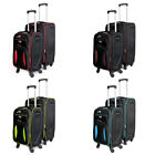 Expandable 4 Wheel Spinner Trolley Suitcase Cabin Size + Medium Size SET