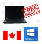 Lenovo Thinkpad T510 laptop i5 2.4GHz 4GB to 8GB ram HDD or SSD 15  inch Win 10