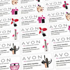 Personalised Sticky Labels Stickers Avon Reps Custom Printed Sticker Printing
