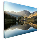 Buttermere Lake District Canvas Print Crafted In London - Quality Assured