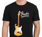 Limited YNGWIE MALMSTEEN FENDER Stratocaster Electric Guitar Tshirt Size S-5XL