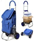 Trolley Dolly Foldable Cart for Shopping Groceries with 2 Wheels Multiple Colors