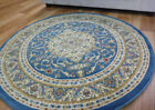 Round Rugs Blue 600 Classical