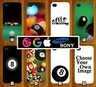 Snooker Phone Case Cover Pool 8 Balls Ball Eight Black and White 3D Novelty 215 £5.48 GBP on eBay