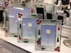 GLASS COLLECTION PHOTO FRAME 3 SIZES SILVER MIL LONDON FRAMES