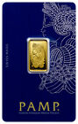 5 Gram Gold Bar in Pamp Suisse Assay Case -  Pure Gold - Ships FREE !
