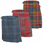 "Woman's Glen Appin 100% Wool 19.5"" Muted Tartan Kilt Skirts - Made In Scotland"