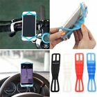 SILICONE BIKE CAR STEERING WHEEL MOUNT HOLDER BAND FOR HUAWEI  P10 LITE MATE 10
