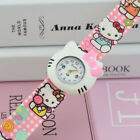 NEW FASHION Hello kitty Slap Watch for girls 3 colors - FREE SHIPPING