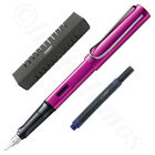 Lamy Al-Star Vibrant Pink Fountain Pen Free Blue T10Ink  (Choose Your Nib Size)