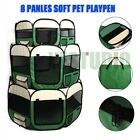 Foldable Pet Playpen Dog Cat Puppy Play Pen Run Cage Fence Enclosure Tent Crate