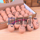 Bouncy Fake Egg Rubber Balls Egg Jet Ball With Smiley Face Faces Fun 5.4cm