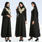 Dubai Cocktail Embroidery Dress Abaya Arab Muslim Maxi Kaftan Turkish Women Robe