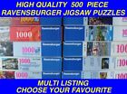 Ravensburger 500 piece Jigsaw Puzzles - CHOOSE YOUR OWN : MULTI LISTING