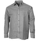 Traditional Shirt Oktoberfest Casual Green Check Checkered Costume
