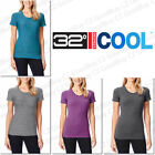 Women's 32 Degrees COOL Weatherproof Short Sleeves Scoop Neck Tee TShirt NEW