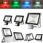 LED Floodlight PIR 10/20/30/50/100/150/300W Security Flood Lights Warm Cool IP65