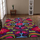 BEST QUALITY THICK SOFT MULTI COLOUR RUGS HARLEQUIN BRAND DESIGNER CLEARANCE RUG
