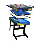 "48"" Multi-function 4 in 1 Table Tennis Table Soccer Foosball Table Free Shipping"