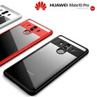 COVER CUSTODIA BUMPER per HUAWEI MATE 10 PRO in TPU ORIGINALE Shockproof Slim