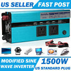 500W / 1500W Car Power Inverter Converter Digital Display Design For Electricity
