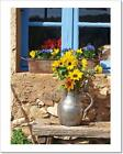 Sunflowers In ProvenceAbove allArt Print Home Decor Wall Art Poster - C