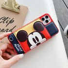 Cute Disney Winnie the pooh Minnie Leather case Cover for iPhone X 8 7 6 6S Plus
