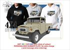 TOYOTA FJ45 80's WELL LAND CRUISER UTE HOODIE ILLUSTRATED ARTWORK 4x4 OFF ROAD