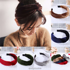 Fashion Women Girl Twisted Knotted Headwear Wide Headband Hair Band Accessories