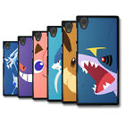 PIN-1 Game Pokemon 9 Solid Phone Case Cover Skin for Sony HTC