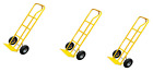 600LB HEAVY DUTY SACK TRUCK INDUSTRIAL HAND TROLLEY WITH PNEUMATIC TYRE WHEEL NE